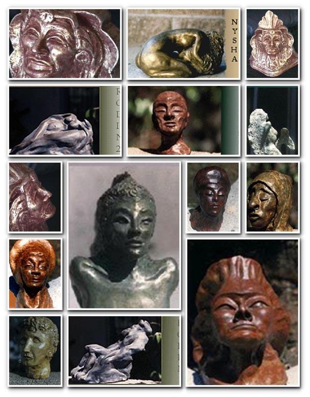 sculptures_collage